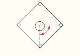 Chapter 2.CR, Problem 47CR, Through what approximate angle of rotation must a baseball pitcher turn when throwing to first base