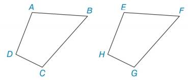 Chapter 3.1, Problem 40E, Are quadrilaterals ABCD and EFGH congruent if: a ABEF, BF, BCFG and CG? b AE, ABEF, BF, BCFG, an CG?