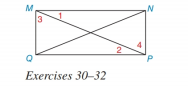 Chapter 3.2, Problem 32E, In Exercises 30 to 32, draw the triangles that are to be shown congruent separately. Then complete