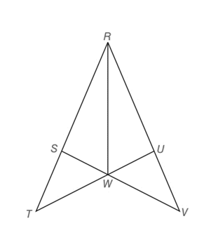 Chapter 3.2, Problem 33E, Given: RW bisects SRU Prove: RSRU TRUVRS HINT: First show that RSWRUW.