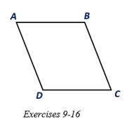 Chapter 4.1, Problem 16E, Suppose that diagonals AC-andBD- of are drawn and that ACBD. Which angle A or B would have the , example  2