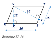 Chapter 4.1, Problem 18E, In Exercises 17 and 18, consider with VX-  RS- and VY- ST-. a Which line segment is the altitude of , example  2