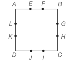 Chapter 4.3, Problem 46E, The sides of square ABCD are trisected at the indicated points. If AB = 3, find the perimeter of a