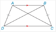 Chapter 4.4, Problem 5E, Given isosceles trapezoid ABCD, Find. a AC, if BD = 12.3 cm b x, AC=3(x+7) and BD=9(x6).