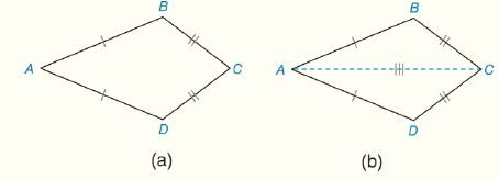 Chapter 4.CT, Problem 15CT, Complete the proof of the following theorem: In a kite, one pair of opposite angles are congruent.