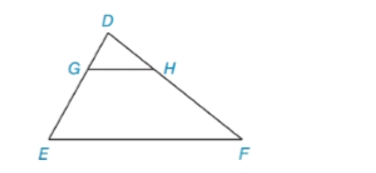 Chapter 5.3, Problem 10E, In Exercises 9 to 12, name the method that explains why DGH~DEF. DE=3DG and DF=3DH