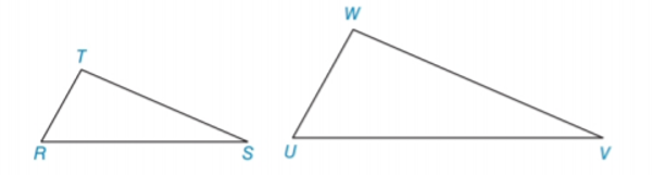 Chapter 5.3, Problem 6E, In Exercises 5 to 8, name the method AA,SSS~,orSAS~ that is used to show that the triangles are