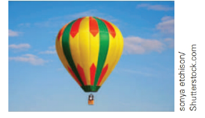 Chapter 5.4, Problem 18E, A hot-air balloon is held in place by the ground crew at a point that is 21 ft from a point directly