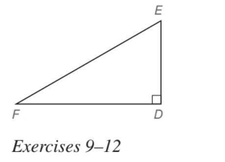 Chapter 5.5, Problem 11E, In Exercises 5 to 22, find the missing lengths. Give your answers in both simplest radical form and
