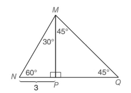 Chapter 5.5, Problem 20E, Given: NQM with angles as shown in the drawing MPNQ Find: NM,MP,MQ, PQ, and NQ
