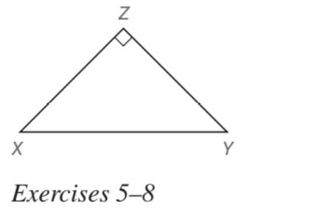 Chapter 5.5, Problem 5E, In Exercises 5 to 22, find the missing lengths. Give your answers in both simplest radical form and