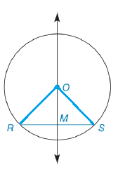Chapter 6.3, Problem 47E, In Exercises 46 to 49, prove the stated theorem. If a line through the center of a circle bisects a