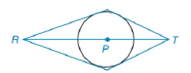 Chapter 6.4, Problem 14E, Given circle P and points RPT such that R and T are in the exterior of circle P, suppose that