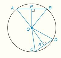 Chapter 6.CT, Problem 14CT, aIf mABmCD, write an inequality that compares mAQBmCQD. bIf QRQP, write an inequality that compares
