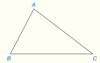 Chapter 7.CT, Problem 6CT, For a given triangle such as ABC, what word describes the point of concurrency for athe three angle
