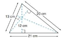Chapter 8.1, Problem 48E, In Exercises 47 to 50, use the fact that the area of the polygon is unique. In the triangle whose