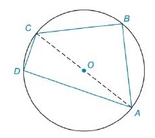 Chapter 8.2, Problem 27E, In Exercises 27 to 30, find the area of the figure shown. Given: In O, OA=5, BC=6, and CD=4 Find: