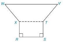 Chapter 8.2, Problem 28E, In Exercises 27 to 30, find the area of the figure shown. Given: Hexagon RSTVWX with WV-XT-RS- RS=10