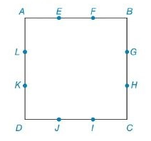 Chapter 8.2, Problem 41E, For Exercises 41 and 42, the sides of square ABCD are trisected at the indicated points. Find the