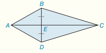 Chapter 8.CR, Problem 12CR, Given: Kite ABCD withAB=10BC=17,andBD=16 Find: AABCD