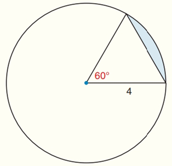 Chapter 8.CR, Problem 29CR, Find the exact areas of the shaded regions in Exercises 27 to 31.