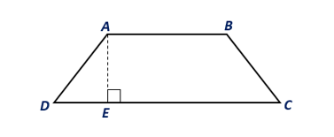 Chapter 8.CT, Problem 8CT, In trapezoid ABCD, AB=7 ft and DC=13 ft. If the area of trapezoid ABCD is 60 ft2, find the length of