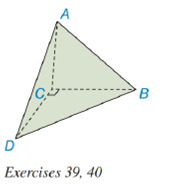 Chapter 9.2, Problem 40E, Exercise 39 and 40 are based upon the uniqueness of volume. The volume of the pyramid shown is