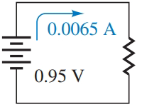 Chapter 1.12, Problem 56E, Power (in watts, W) equals voltage times current. Find the power in each circuit:
