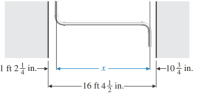 Chapter 1.7, Problem 82E, Find length x in Illustration 13. ILLUSTRATION 13