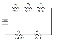 Chapter 2, Problem 3CR, Find the total resistance in the series circuit in Illustration 2. ILLUSTRATION 2