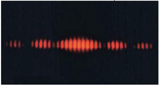 Chapter 27, Problem 11CQ, Figure 27.55 shows the central part of the interference pattern for a pure wavelength of red light